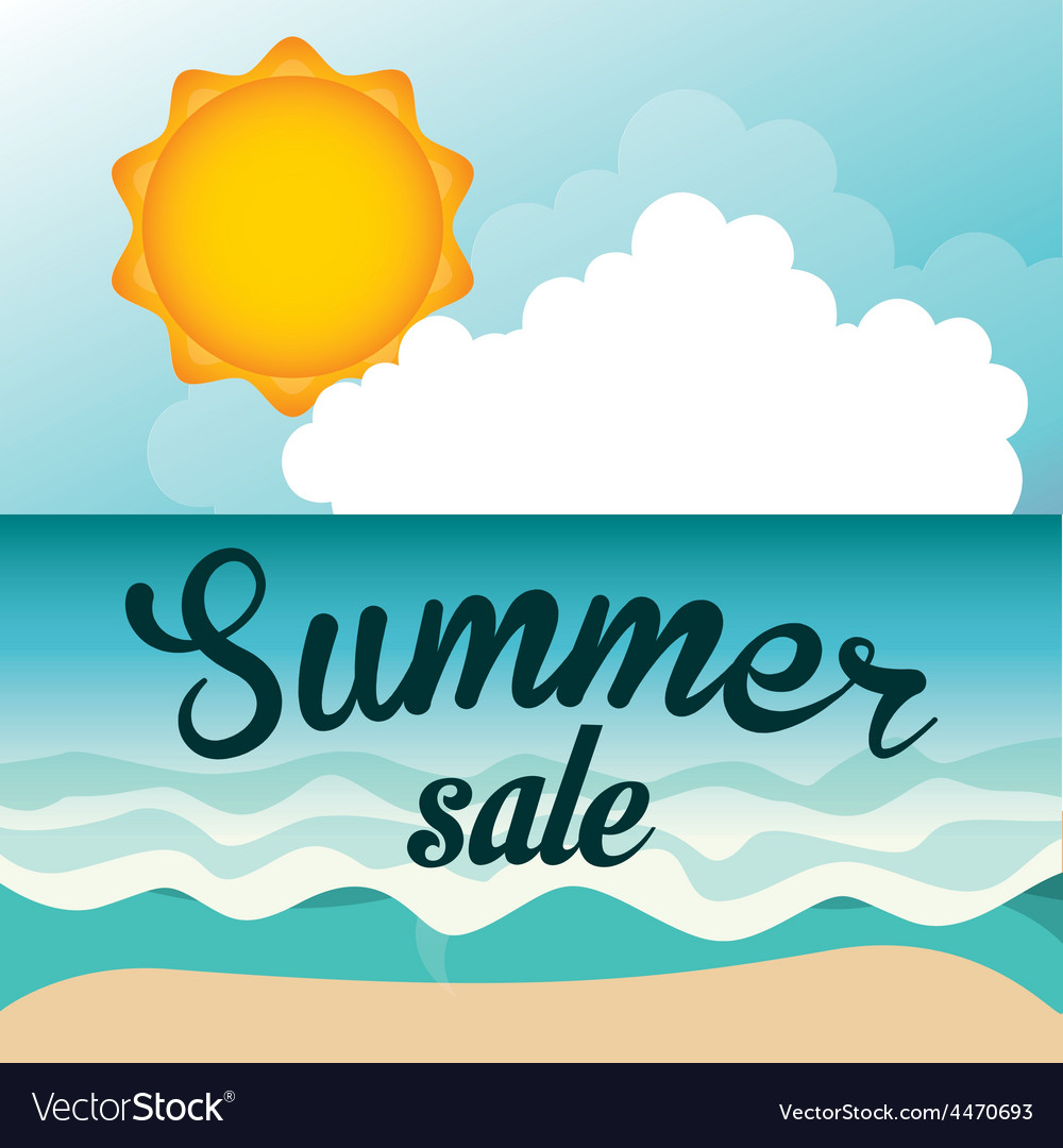 Summer sale vector | Price: 1 Credit (USD $1)