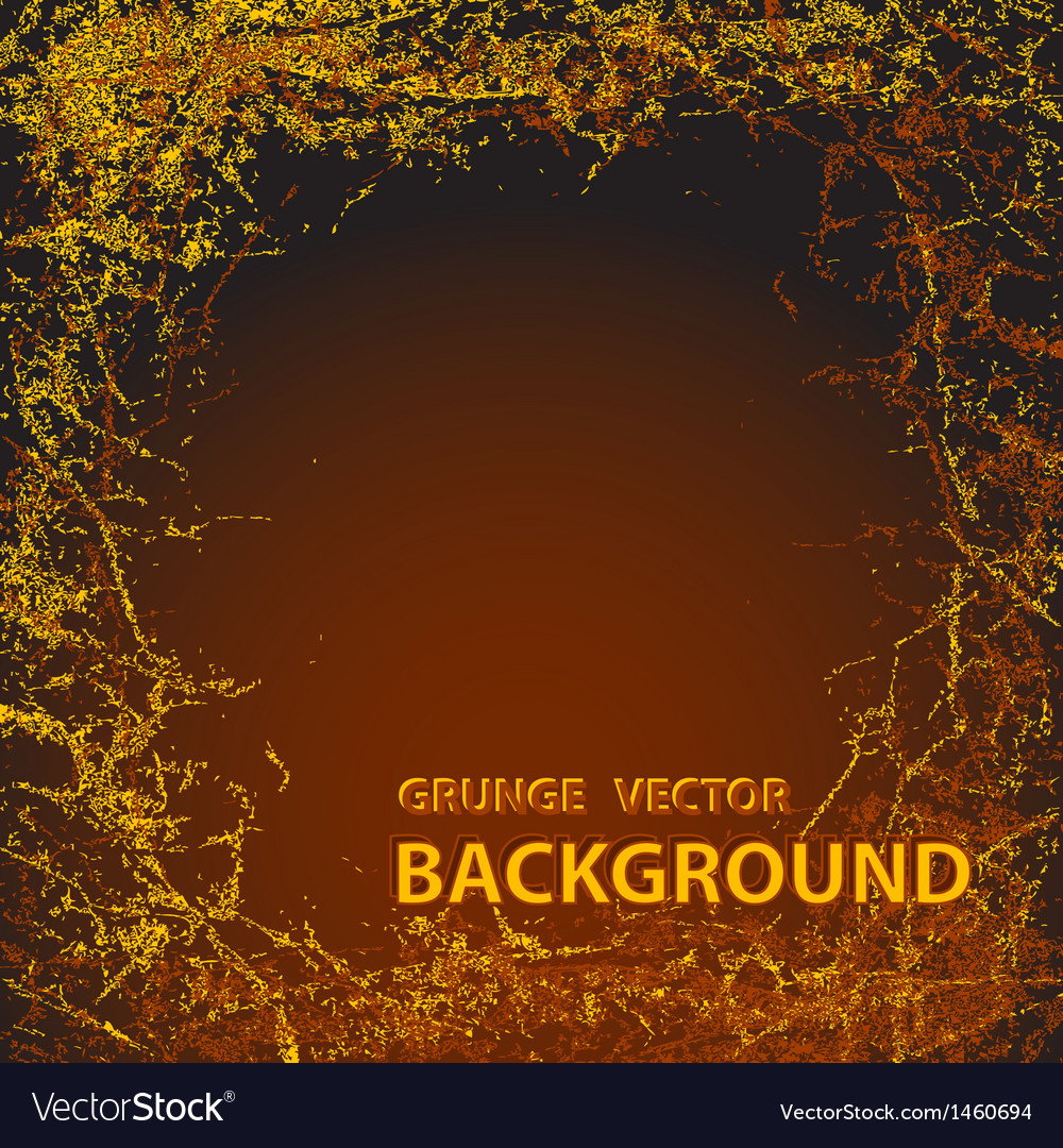 Background with grunge in dark brown colors vector | Price: 1 Credit (USD $1)