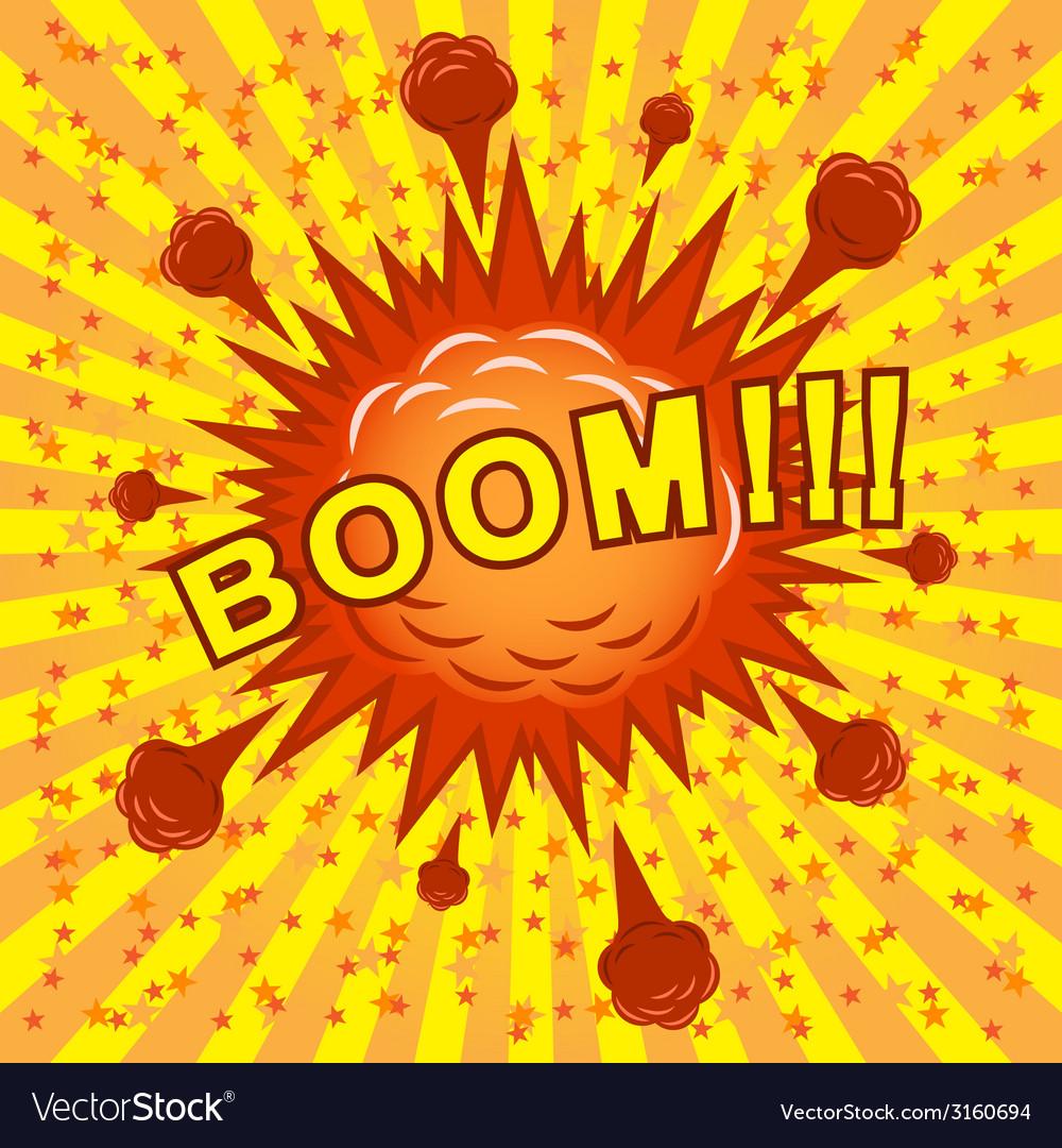 Boom vector | Price: 1 Credit (USD $1)