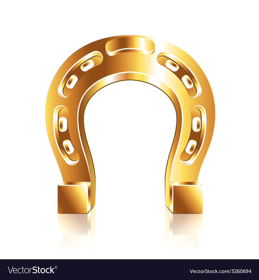 Horseshoe isolated vector | Price: 1 Credit (USD $1)