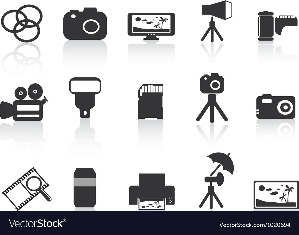 Photography element icon vector | Price: 1 Credit (USD $1)