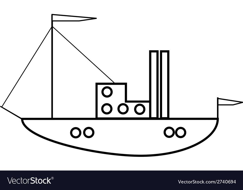 Ship icon vector   Price: 1 Credit (USD $1)