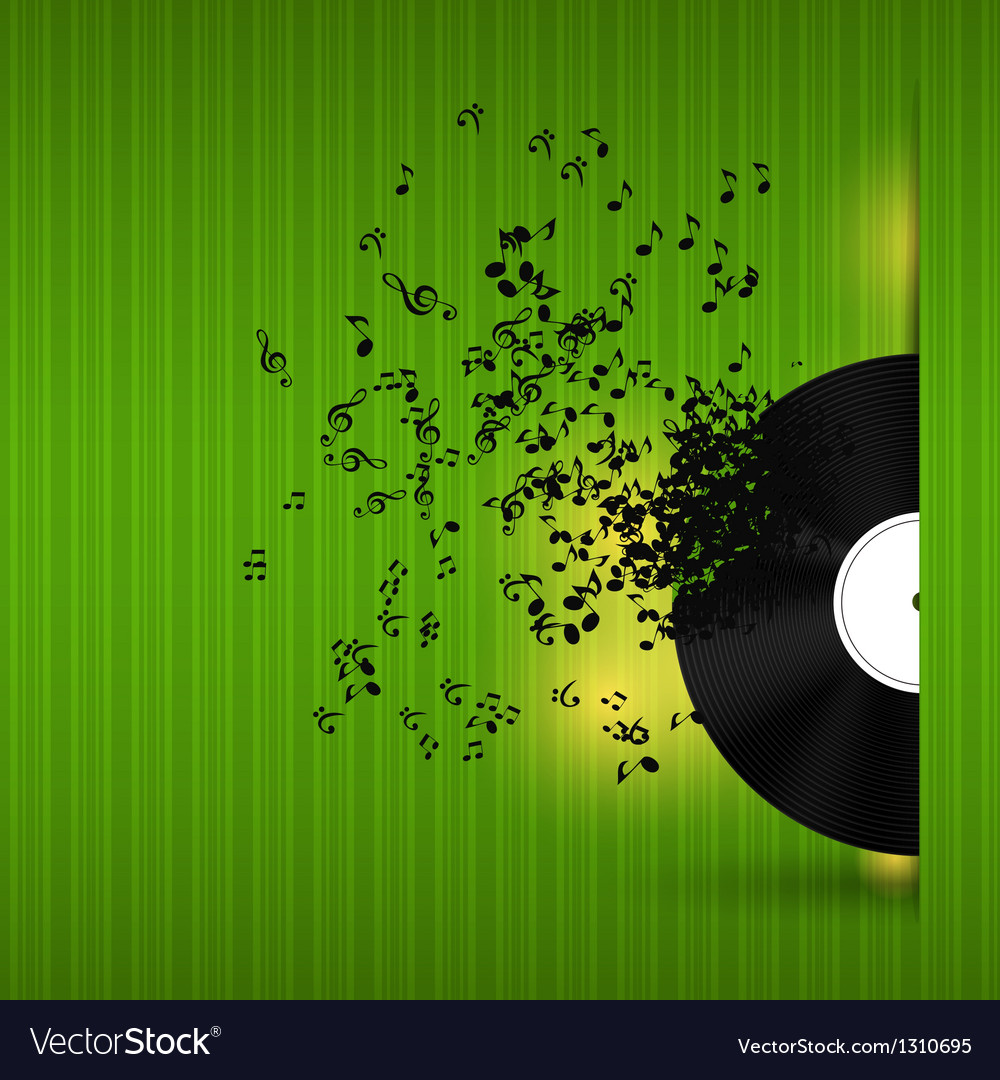 Abstract music background for your design vector | Price: 1 Credit (USD $1)