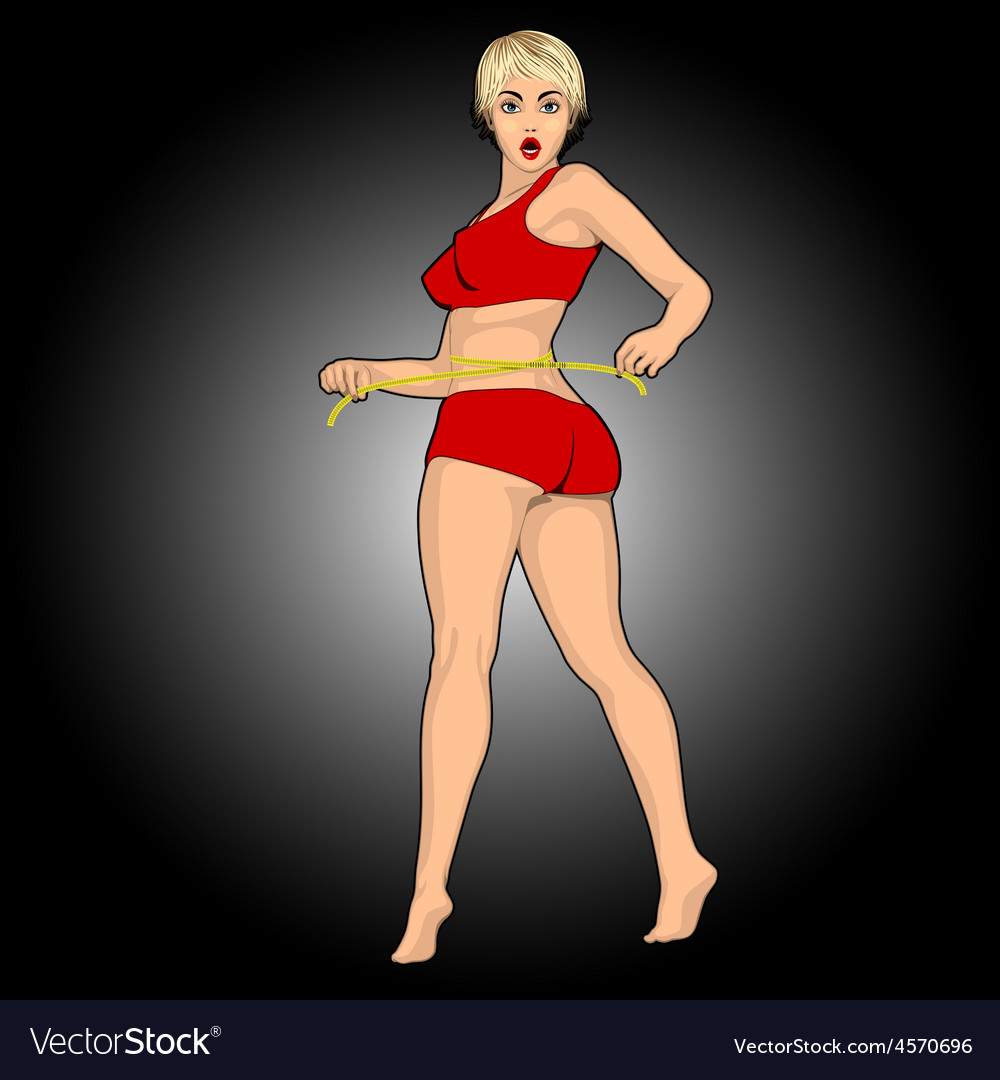 Fitness woman body vector   Price: 1 Credit (USD $1)