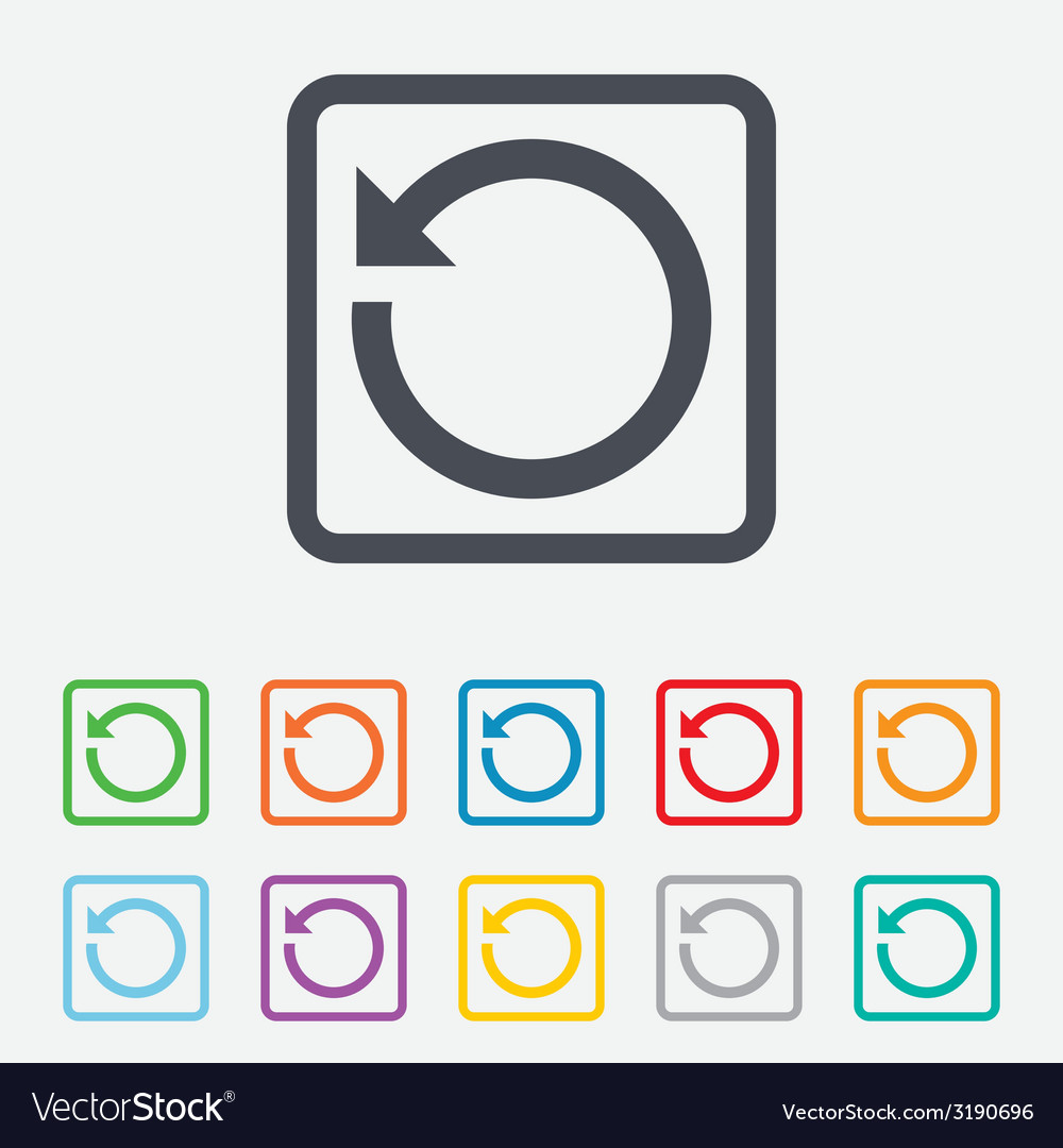 Repeat icon refresh symbol loop sign vector | Price: 1 Credit (USD $1)