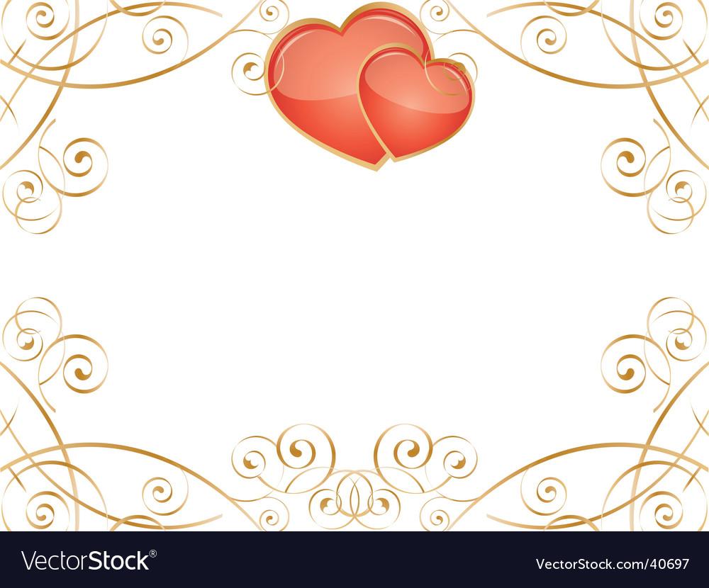 Valentine hearts vector | Price: 1 Credit (USD $1)