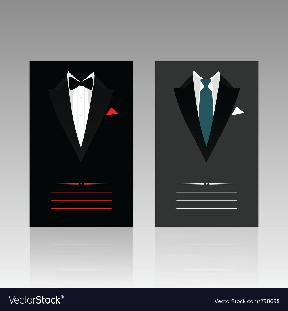 Card of the businessman vector | Price: 1 Credit (USD $1)