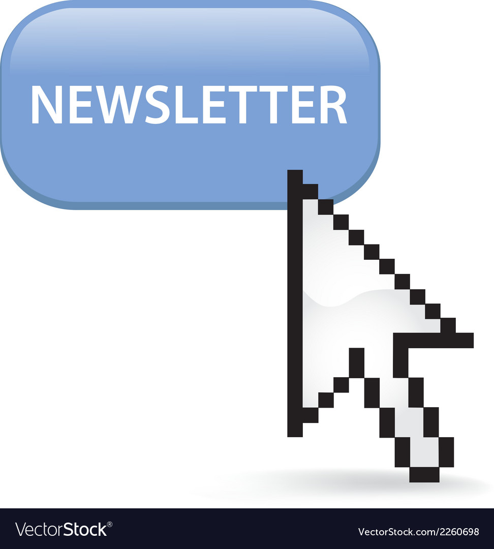 Newsletter button click vector | Price: 1 Credit (USD $1)