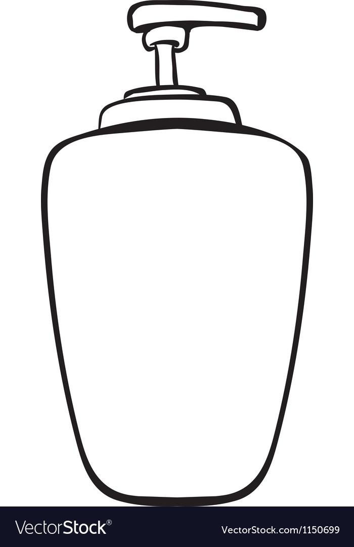 A liquid container vector | Price: 1 Credit (USD $1)