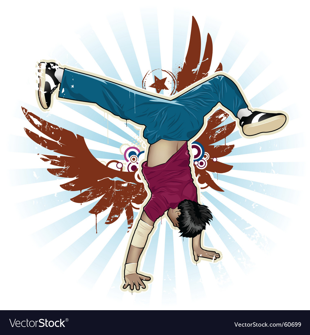 Breakdance vector | Price: 5 Credit (USD $5)