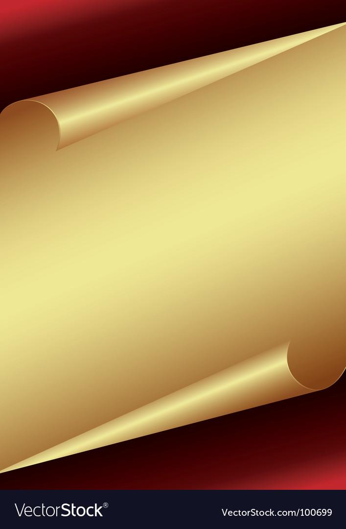 Golden paper background vector | Price: 1 Credit (USD $1)