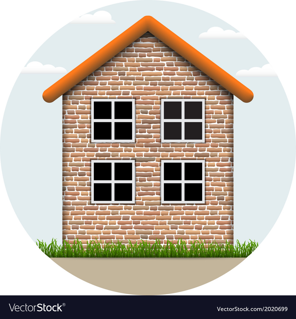 Icon house vector | Price: 1 Credit (USD $1)