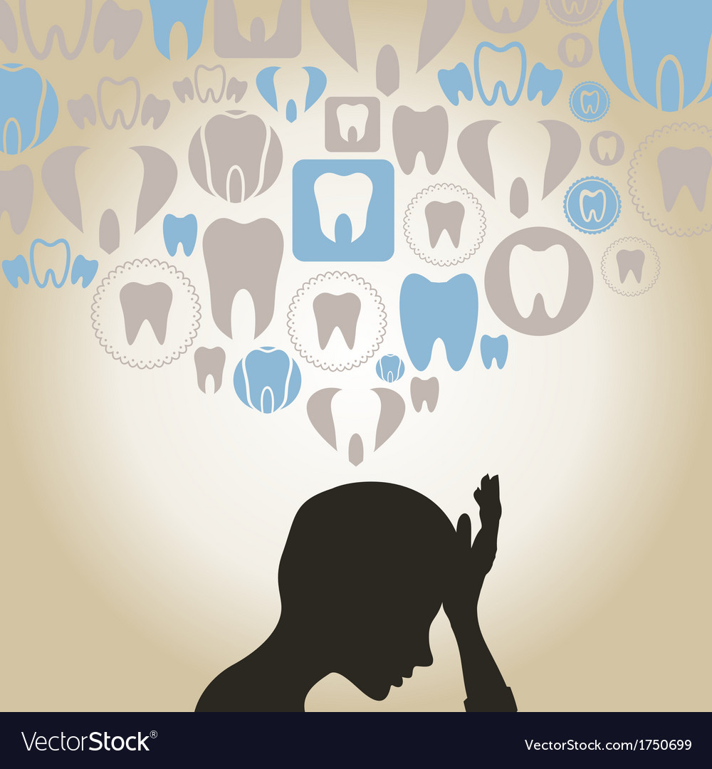 Toothache vector | Price: 1 Credit (USD $1)