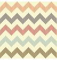 Seamless geometric wavy pattern vector