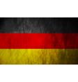 Grunge german flag vector