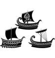 Greek ships 2 vector