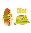 Diet icons vector