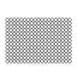 Chain fence with shadow vector