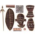 African elements vector