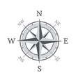 Compass icon isolated on white background vector
