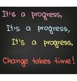 Its a progress vector