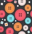 Sew seamless pattern vector