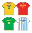 T-shirts vector