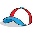 Cartoon baseball cap vector