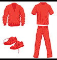Clothes icon fashion set collection vector