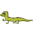 Lizard reptile cartoon vector