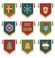 Christmas emblems vector
