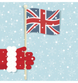 Great britain christmas vector