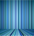 Blue empty room vector