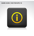 Information info icon gold vector