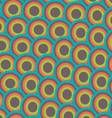 Pattern japan wave style vector