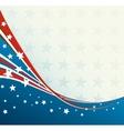 American flag patriotic background vector