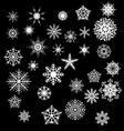 Snowfake vector