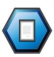 Paper button vector