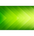 Abstract green eco arrows background vector