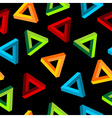 Impossible triangle pattern vector