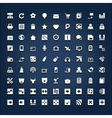 Universal icons vector