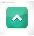 Arrow up icon vector
