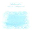 Abstract hand-drawn watercolor background vector