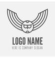 Logo label badge emblem or logotype element vector