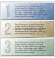 Infographic enumerated presentation banner set vector