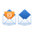 Pixel perfect email icons vector