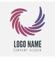 Abstract logo label badge emblem or logotype vector