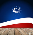 4th of july happy independence day united states vector