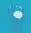Brainstorm and teamwork idea concept vector