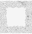Musical frame6 vector